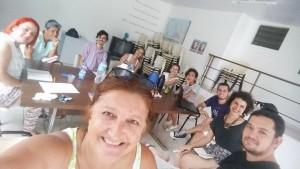 Integrantes do CDHMP, Coletiva Marti Vive e APP-Foz debatem ações conjuntas sobre Direitos das Mulheres.